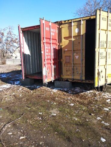 Сдаются контейнера 40-футовый морской под склад, на охраняемой