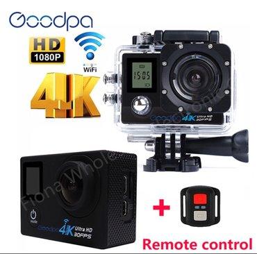 Akciona 4k ultra hd go pro sportska kamera wi fi +daljinski noviji - Belgrade