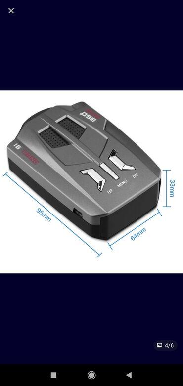 Аксессуары для авто - Новый - Бишкек: Радар-детектор определителей скорости (обычно называют антирадар)Без