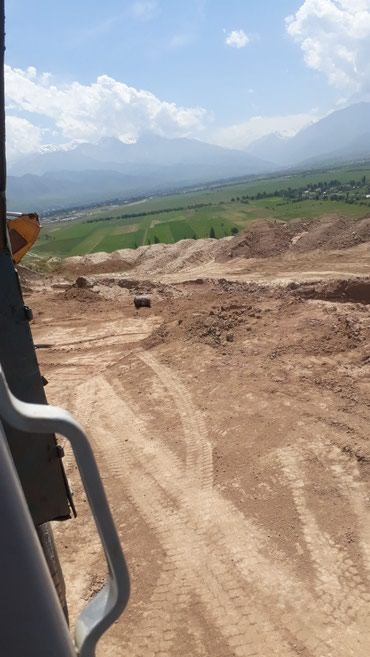 Песок  кум камаз 15 тонн. 4500 в Бишкек