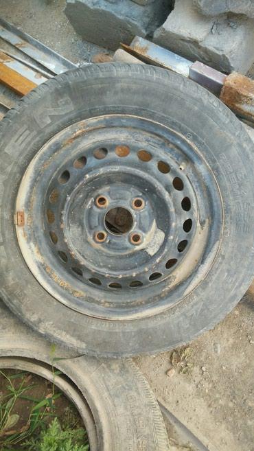 Запаска от Хонды Фит с резиной в Бишкек