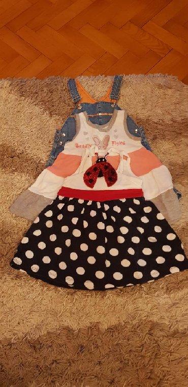 Svileni suknja - Srbija: Kanz(nova) suknja 86 i dve kvalitetne i ocuvane haljinice velicine 80