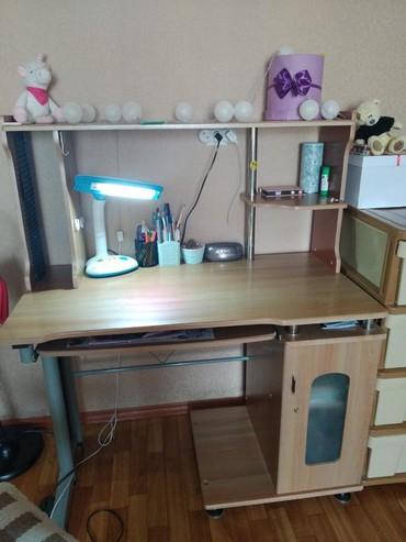 Продается письменный стол.Небольшой торг в Кара-Балта