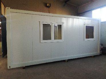Nekretnine - Srbija: Argus STANDARD, kontejneri sa duplo izolovanim pertlovanim krovom