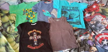 Skafander 6 - Pozarevac: Majice za decake,uzrast 6-7god,cena je po komadu