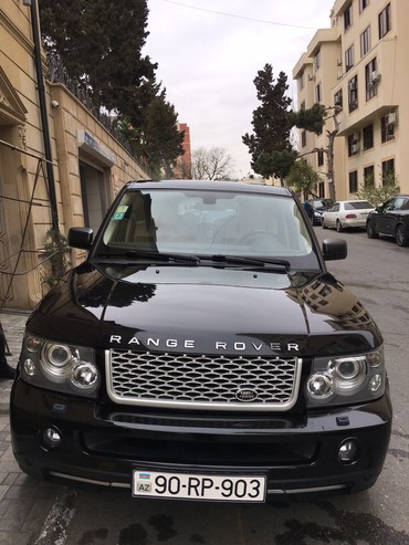 Land Rover - Azərbaycan: Land Rover Range Rover 2.7 l. 2007 | 177000 km