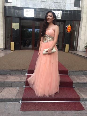 вечернее платье ручной работы в Кыргызстан: Вечернее Платье Привозили из Турции и надевали один раз. Состояние 10и