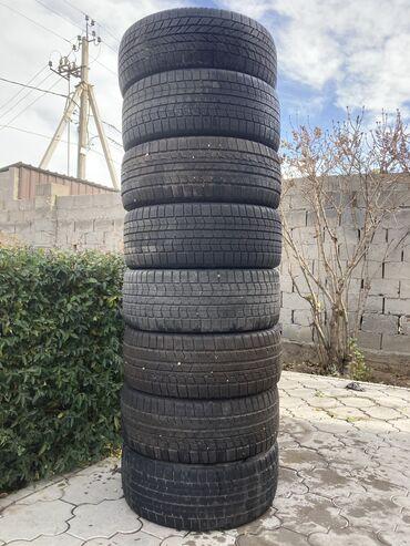 шины зимние бу r16 в Кыргызстан: Продаю шины зимние размер 225/45/18 комплект 4 шин уже продал отдам 3