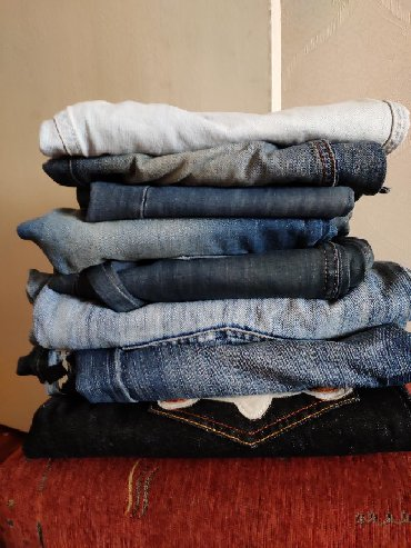 брюки джинсы мужские в Кыргызстан: Мужские брюки