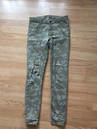 Zara nosene pantalone 36 velicina
