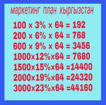Жумуш берилет. Фаберлик компаниясы. в Бишкек