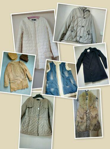Продам верхнюю одежду Размеры и цены указаны на фото. Продаю потому чт