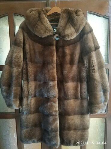 гуси в Кыргызстан: Норковая шуба фирмы h&h alisaer, размер 46-52! В хорошем