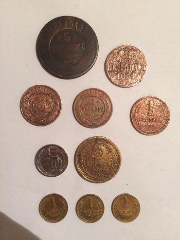 Sikkələr - Azərbaycan: Moneti Deshego