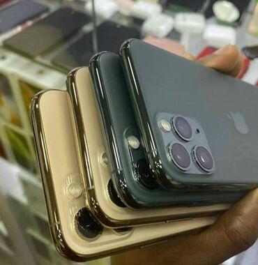 Электроника - Таджикистан: IPhone 11 Pro Max | 256 ГБ | Золотой Новый | Гарантия, Отпечаток пальца, Беспроводная зарядка