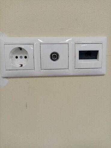 Электрик | Монтаж выключателей, Монтаж розеток, Установка софитов