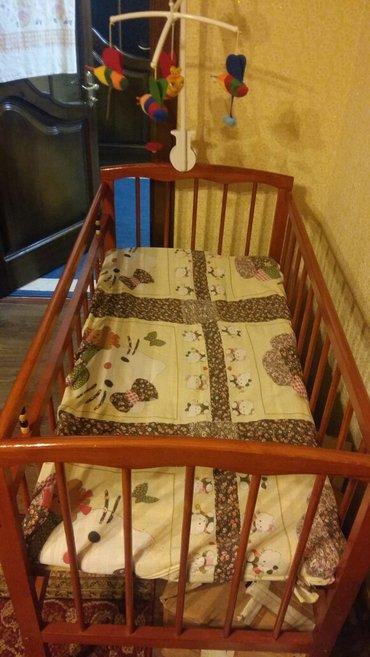 Продам детскую кроватку (сосна,экологически чистый  материал) в связи  в Бишкек
