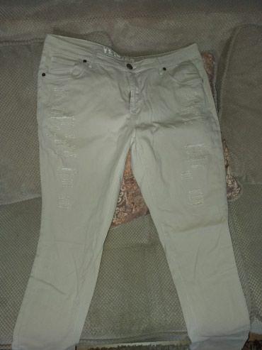 Pantalone-jako - Srbija: Pune elastina pantalone jednom obučene jako udobne vel xl
