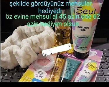 - Azərbaycan: Magazadan ( sac sampunu,dus geli,parfumeriya,kosmetika,dis