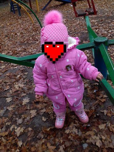 Куртка зимняя размер на 2 годика примерно