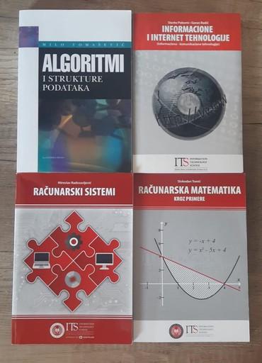 Haljina-na-rsd - Srbija: Komplet knjiga potrebno za prvi semestar prve godine ITS, smer