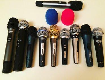 Mikrofonlar Azərbaycanda: Mikrafonlar 15 aznden bawlayir