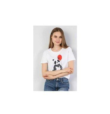 женскую футболку в Кыргызстан: Женские футболки ColinS S