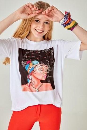 футболка-турция в Кыргызстан: Футболка под Zara (Турция) Размер М Стоимость -600