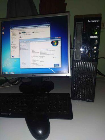 Lenovo a859 - Srbija: Odličan mali Lenovo i3/4GB RAM/320GB/Original WindowsMali Lenovo stoni