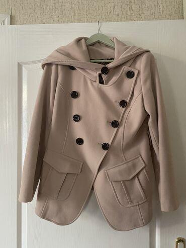 jubka na vysokoj posadke в Кыргызстан: Тёплый пиджак на осень 40 размера (турецкий) ассиметричного кроя в отл