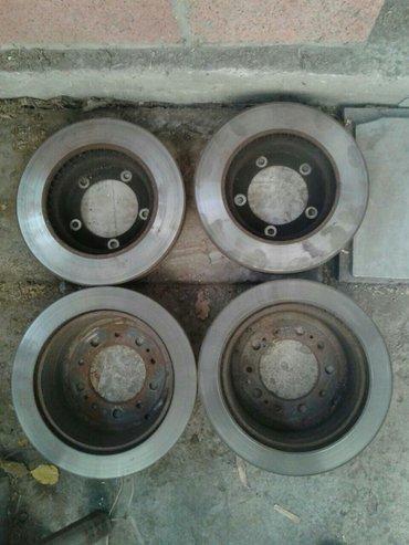 Тормозные диски на lx 470 остались только передние 3000с за 2штуки в Бишкек