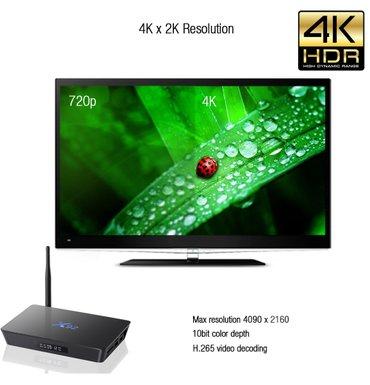 Bakı şəhərində Smart TV Box  X92 4KIstenilen televizora qoshula biler (HDMI ve