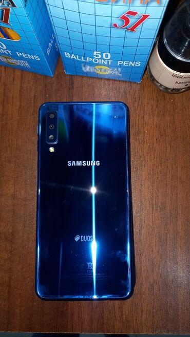 Электроника в Агджабеди: Новый Samsung A7 128 ГБ Синий