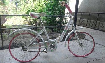 Продаю детский велосипед для девочки новый не ездили без покрышек  в Бишкек