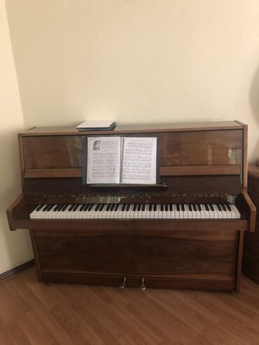 сколько стоит пианино бу в Кыргызстан: Продаётся Пианино Rönisch