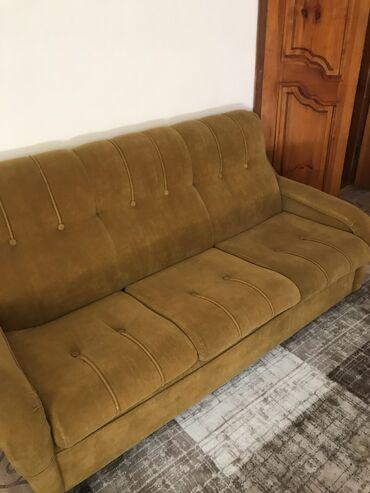 Дом и сад - Бишкек: Мягкая мебель 3 -ка, диван раскладной, 2 кресла