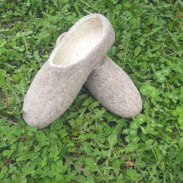 Женская обувь в Каракол: Тапочки из 100%натуральной шерсти! От 36 до 41 размера принимаю