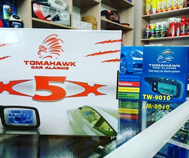 сигнализация старлайн а9 в Кыргызстан: Сигнализация с Автозаводом: Tomahawk TW-9010 Tomahawk X5X