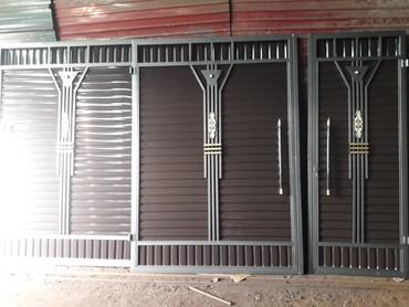 Ворота решетка перила +уст дост в Бишкек