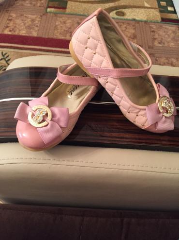Туфли детские очень нежные. На 5-6 лет состояние идеальное  в Бишкек