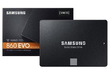 Sərt disklər və səyyar vincesterlər Azərbaycanda: Samsung 860 EVO 500GB SSD.Yenidir. Kapalı original qutusunda. Yüksək
