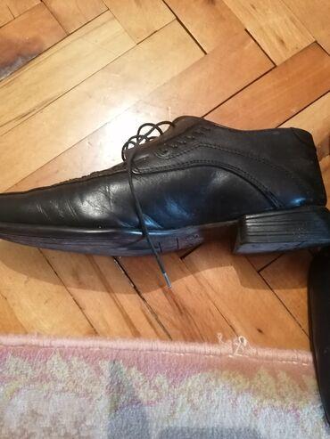 Bez cipele - Srbija: Muške cipele bukvalno nove bez tragova korišćenja br. 40