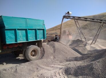 Ак барс бишкек - Кыргызстан: Щебень с доставкой -3500сОтсев с доставкой -4500 сОтсев грязный под