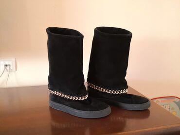 Posao u italiji - Srbija: Kožne italijanske čizme, broj 37. Antonella Rossi su, nosene su više