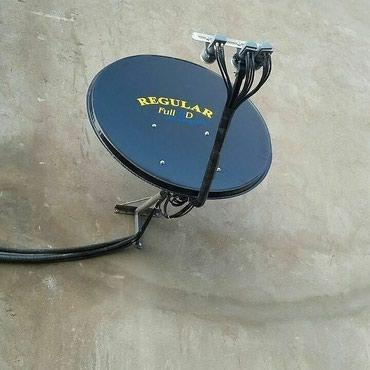 Bakı şəhərində Krosna antena desdi mini ful hd tuner canag anten qara ve ya ag 2 lnb