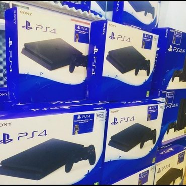 Teze upakovkada orginal Ps4 oyun konsollari  PS4 Slim 500gb yaddasla
