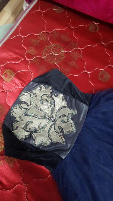 вечернее платье синее в Кыргызстан: Шикарное вечернее платье выше колен размер S - XS Заходите в мой