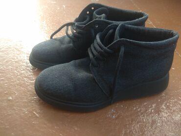 Туфли - Кыргызстан: 1. Деми ботинки, итальянские, в хорошем состоянии, теплые. Размер 38