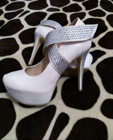 Продаю вечерние туфли 37-38размера одевала пару раз .куплены в лионе