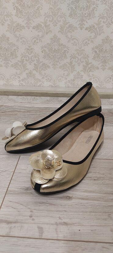 обувь женская классика в Кыргызстан: Ликвидация товара.Мягкие балетки.Смотрятся очень красиво.Размер только